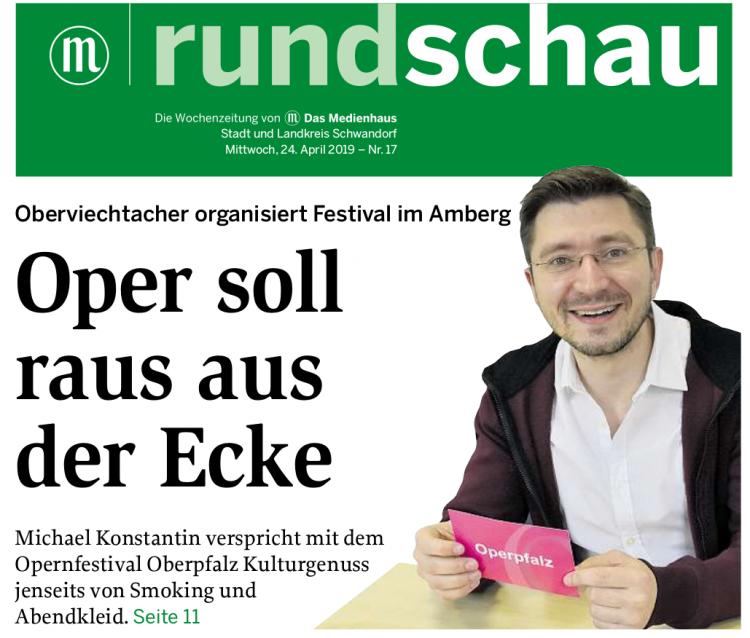 Opernfestival Oberpfalz Michael Konstantin im Rundschau-Interview