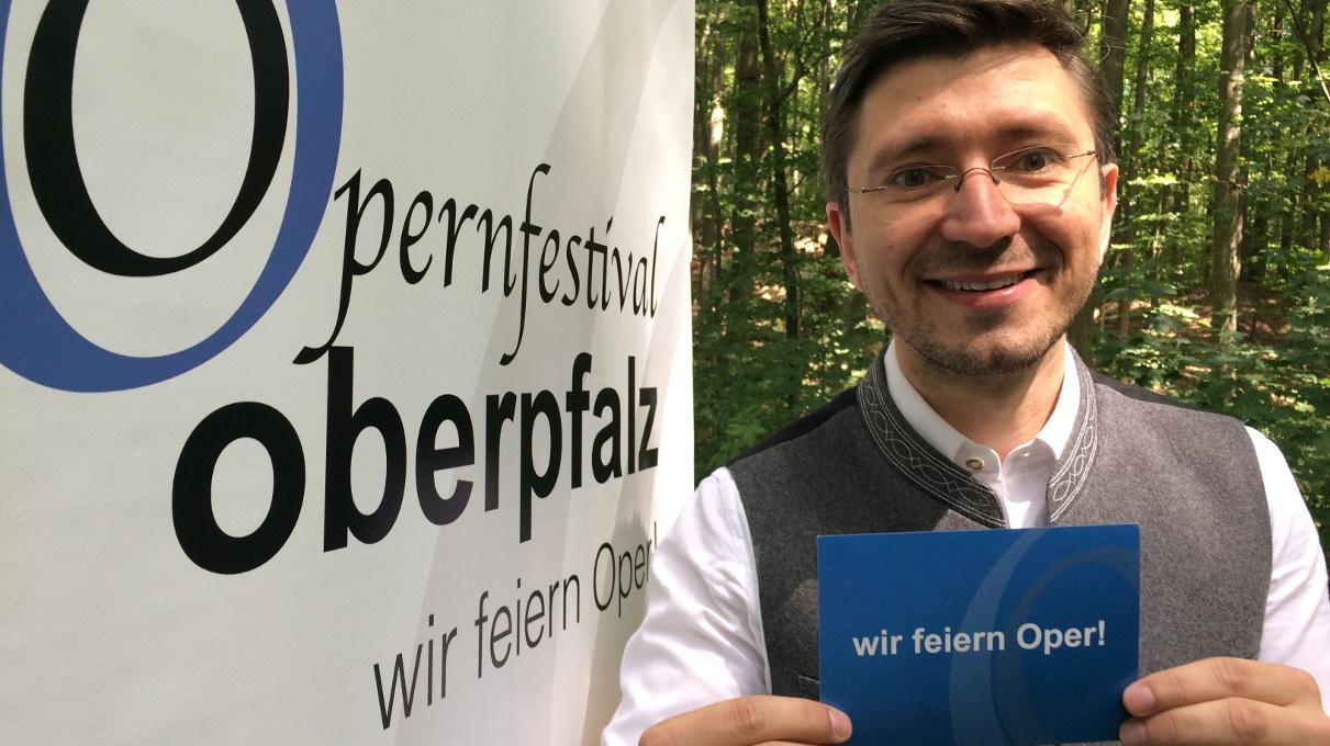 Michael Konstantin vom Opernfestival Oberpfalz